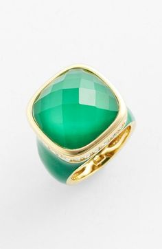 Ariella Collection Square Stone Ring (Nordstrom Exclusive) | Nordstrom