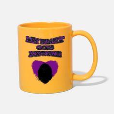 'My Heart Goes Newfie Purple Heart' Tasse | Spreadshirt