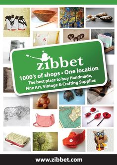 Zibbet is the global marketplace for indie artists, crafters and vintage collectors. | Mateo's Tech Travels