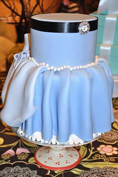 Cinderella's Dress Cake by thecakemamas, via Flickr