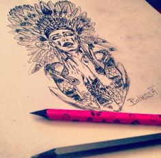 She is the one #new #idea #tattoo #tattoodesign #sketch #drawing #baltess