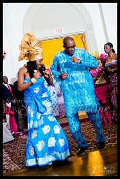 Top Nigerian Wedding Songs. I love their naija dress. y'all know I love gold