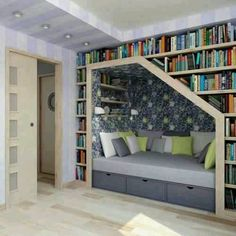 Great reading place for a cozy day