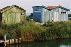 Cabanons des villages ostréicoles d'Arcachon #Pyla #Arcachon #LaCoorniche