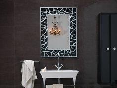 BATHROOM MIRROR VINTAGE COLLECTION BY REGIA | DESIGN BRUNA RAPISARDA, LUCARELLI-RAPISARDA