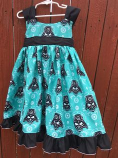 Girls size 4/5T Darth Vader Sugar Skull dress Sugar Skull Dress, Star Wars Dress, Everyday Princess, Huckleberry, Birthday Dresses, Bodice, Corner, Darth Vader, Summer Dresses
