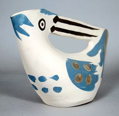 Picasso Ceramic at Masterworks Fine Art Gallery, Pichet anse prise (Seized Handled Pitcher), 1953