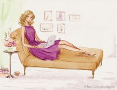 Custom Illustration Wedding Portrait and Character Design by Reani, $195.00
