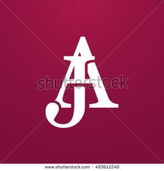 Find Abstract Monogram Elegant Logo Icon Vector stock images in HD and millions of other royalty-free stock photos, illustrations and vectors in the Shutterstock collection. Hand Lettering Art, Cool Lettering, Lettering Design, Clever Logo, Creative Logo, Initials Logo, Monogram Logo, Typography Logo, Logos