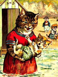 Louis Wain - Cats
