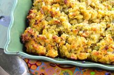 Traditional Cornbread Dressing is a simple, old-fashioned recipe for Thanksgiving dinner and other special meals. More from my siteSouthern Cornbread Dressing – Recipes Umami Paste, Thanksgiving Recipes, Holiday Recipes, Thanksgiving 2017, Thanksgiving Sides, Holiday Meals, Dinner Recipes, Thanksgiving Stuffing, Holiday Dinner