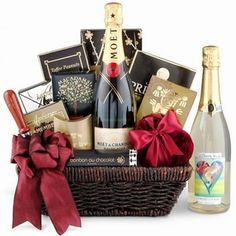 Yours Forever Champagne Gift Basket