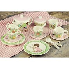 Birthday Surprise tea set Belle & Boo