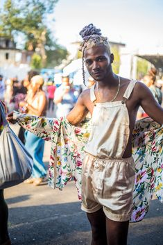 Afropunk: Festival Style Has Never Looked So Good - Man Repeller Afro Punk Fashion, Queer Fashion, Androgynous Fashion, Fashion Outfits, Butch Fashion, Gypsy Fashion, Music Festival Fashion, Festival Outfits, Festival Style