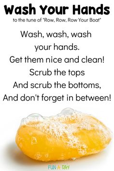 Hand Washing Songs and Videos for Kids Learning to Wash Their Hands | Fun-A-Day!