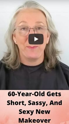 60-Year-Old Gets Short, Sassy, And Sexy New Makeover Funny Prank Videos, Funny Pranks, Funny Laugh, Hilarious, Smoke Pictures, Plus Size Underwear, Dance Videos, Funny Facts, Bridal Makeup