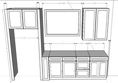 Cad Drawing Of Our Kitchen