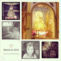 Our Lady of Rosary of Manaoag, Pangasinan #itsmorefuninthephilippines