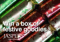 Contact your local Jasper's about Christmas and about the box of Office Christmas goodies to be won!