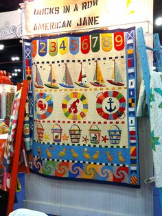 Sandy Klop Quilt | was Polly's and my favorite quilt from market - Sandy Klop's new quilt ...