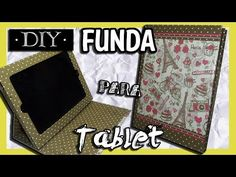 Como hacer una Funda Para Ipad o Tablet casera y sencilla || DIY || Una Idea Más - YouTube