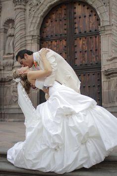 Pareja de recien casados. Foto: Rodrigo Alvarez