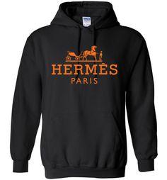 cool Hermes Paris Logo Unisex Hoodie