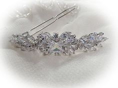Art Deco vintage 1920's 30's inspired bridal hair by VogueHouse