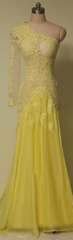 Charming Prom Dress Appliques Prom