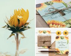Colourful sunflower wedding invitation for a rustic wedding theme Sunflower Wedding Invitations, Rustic Invitations, Bridal Shower Invitations, Autumn Wedding, Summer Wedding, Dream Wedding, Wedding Themes, Wedding Decorations, Wedding Ideas