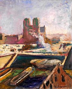 Henri Matisse - Notre-Dame c.1900
