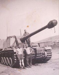 German self-propelled anti-tank gun Sturer Emil