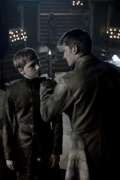 Jaime Lannister and Tommen Baratheon - Game of Thrones
