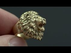 Check out Aggressive Lion Ring by voronartcom on Shapeways and discover more 3D printed products in Rings.