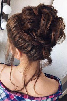 Beautiful updo wedding hairstyle idea #weddinghair #hairstyle #updo #weddingupdo #hairupdoideas #hairideas #bridalhair