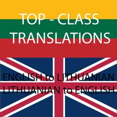 translate English to Lithuanian or Lithuanian to English by brainpow3r