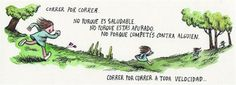 Por Liniers Some Good Quotes, Best Quotes, Good Notes, Inner Child, I Work Out, Alter Ego, E Cards, Life Is Beautiful, Illustrators