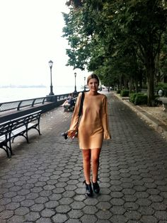 Champagne, silk dress, fashion, Eurotrash, New York, fashion week