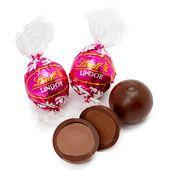 Lindt Dark Chocolate Raspberry Lindor Truffles: 60CT Display Box