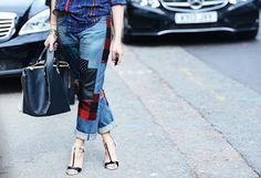 Feirinha Chic : Jeans personalizado - Com bordados,aplicações ou p...