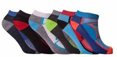 12 Pair Multi Color Breathable Quality Trainer Liner Ankle Socks UK Size 6-11