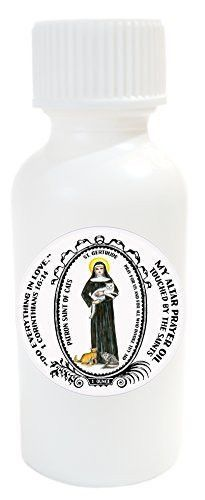 St Gertrude Patron of Cats Altar Oil