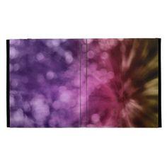 bokeh background iPad folio case #zazzle #ipad #folio #cases #bokeh #art