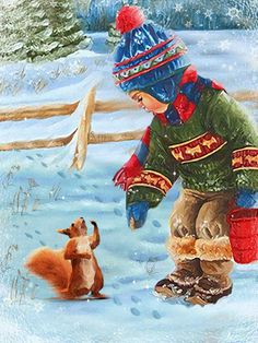 Animated Christmas Pictures with Music Christmas Scenes, Christmas Animals, Christmas Love, Christmas Greetings, Winter Christmas, Winter Images, Winter Pictures, Animated Christmas Pictures, Xmas Gif