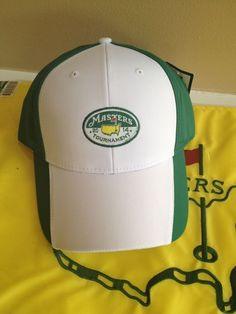 Masters Golf Tournament Performance Hat from Augusta National - Green/White