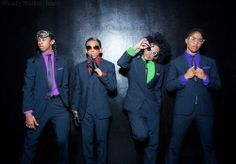 Mindless Behavior in they favorite colors