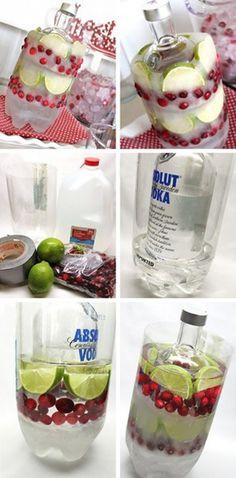 Coole Idee für eine Sommerparty. Noch mehr tolle Rezepte gibt es auf www.Spaaz.de