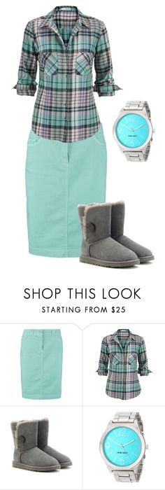 """""""Bluehoo!"""" by lars0901 ❤ liked on Polyvore featuring Gerry Weber Edition, maurices, UGG Australia and Nine West"""
