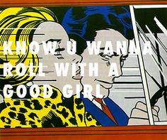 We should get married In the car (1963), Roy Lichtenstein / Mine, Beyonce ft. Drake