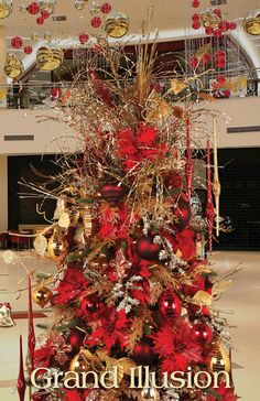 Melrose Designer Christmas Tree 2013: Grand Illusion
